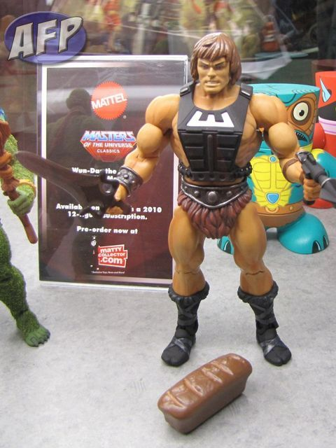 Masters of the Universe Club Eternia Exclusive Won-Dar
