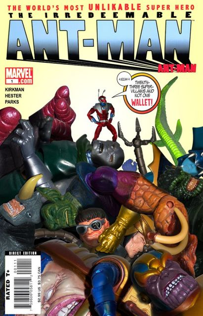 First Prize: Calbretto - Irredeemable Ant-Man #1