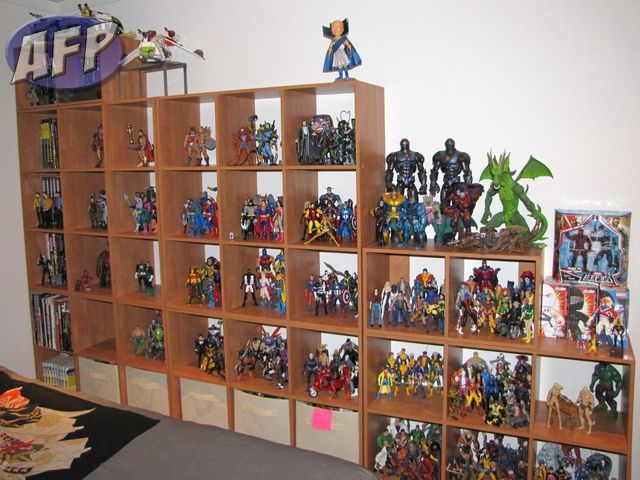 The new hotness - action figure display