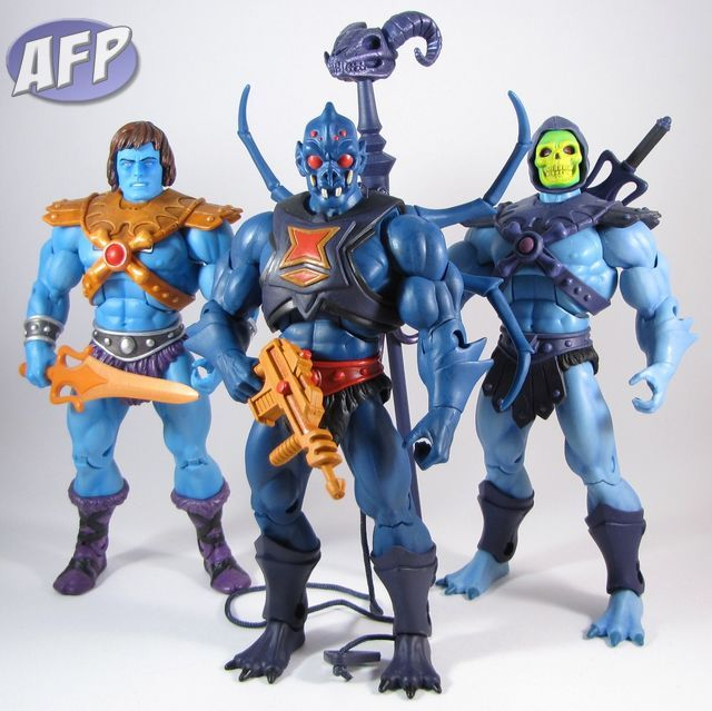 Webstor was a founding member of the Eternian Blue Man Group, with Faker and Skeletor