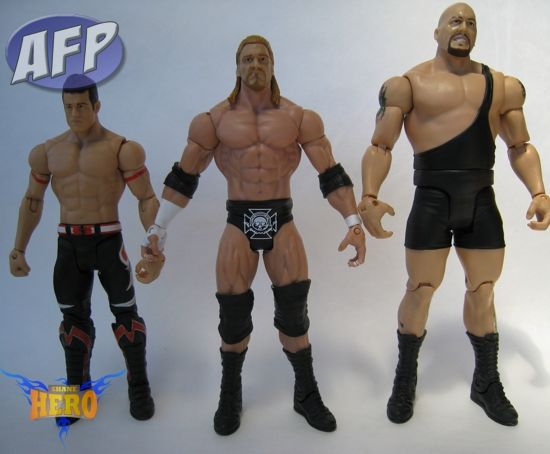 Evan Bourne, Triple H, and Big Show