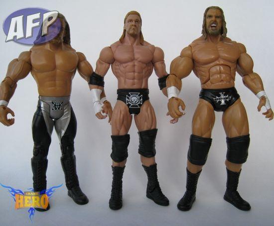 Triple H - Ruthless Aggression, Mattel Basic, and Deluxe Aggression