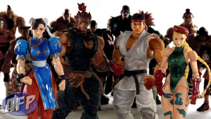 Square Enix Street Fighter