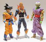 Goku, Human Torch, and Piccolo.JPG