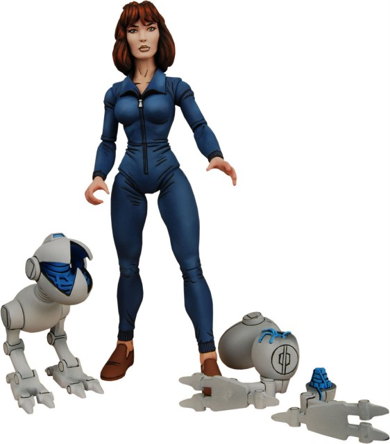 NECA TMNT April O'Neil with Mousers