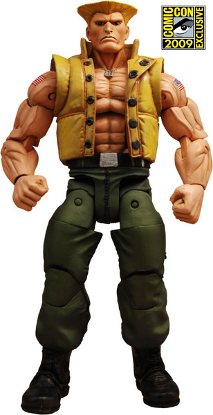 SF4 Guile in Charlie Costume