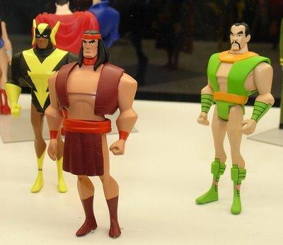 JLU Super Friends Action Figure 3 Pack - Black Vulcan, Apache Chief & Samurai