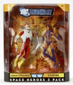 DC Universe Classics Adam Strange and Starfire 2-Pack