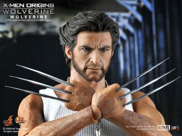 Hot Toys Marvel Movie Masterpiece Logan from X-Men Origins: Wolverine