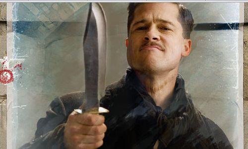 Bradd Pitt in Inglorious Basterds