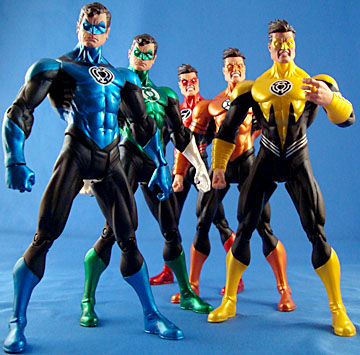 DC Direct San Diego Comic-Con Exclusive Skittles Hal Jordan
