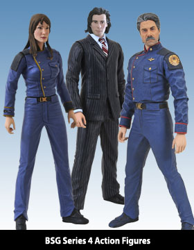 Battlestar Galactica Action Figures