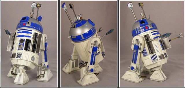 R2-D2 poses