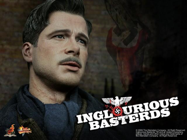 Hot Toys Inglorius Basterds Picture Inglourious-Basterds-Lt-Aldo-Raine-teaser-640x480
