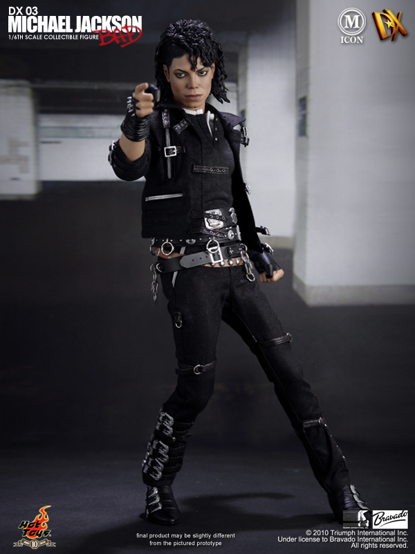 Hot Toys Announces Michael Jackson Bad Version Dx