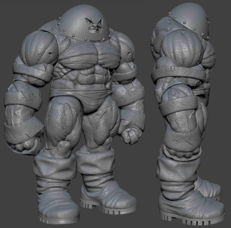 [Iron Studio] Art Scale 1/10 | Marvel Comics: Wolverine - LANÇADO!!! Juggernaut-sculpt-blog