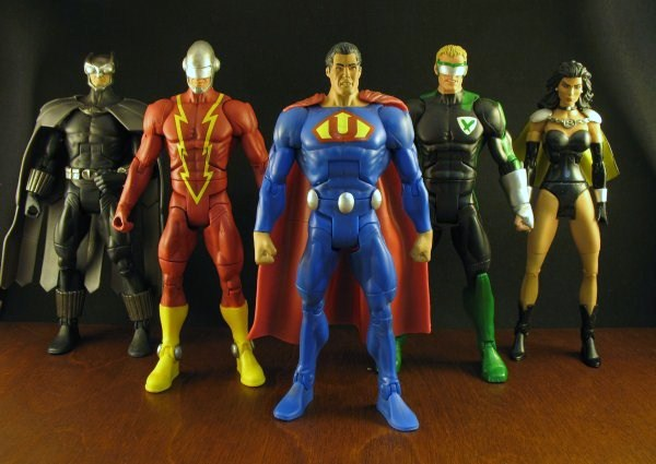 cc30 dc universe twopack the quick and the deadly by