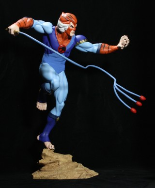 Thundercats 2012 Cast on Fighter Sagat And Thundercats Tygra Statues   Actionfigurepics Com