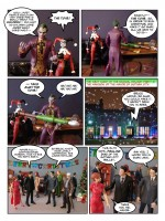 Batman How the Joker Stole Christmas 09