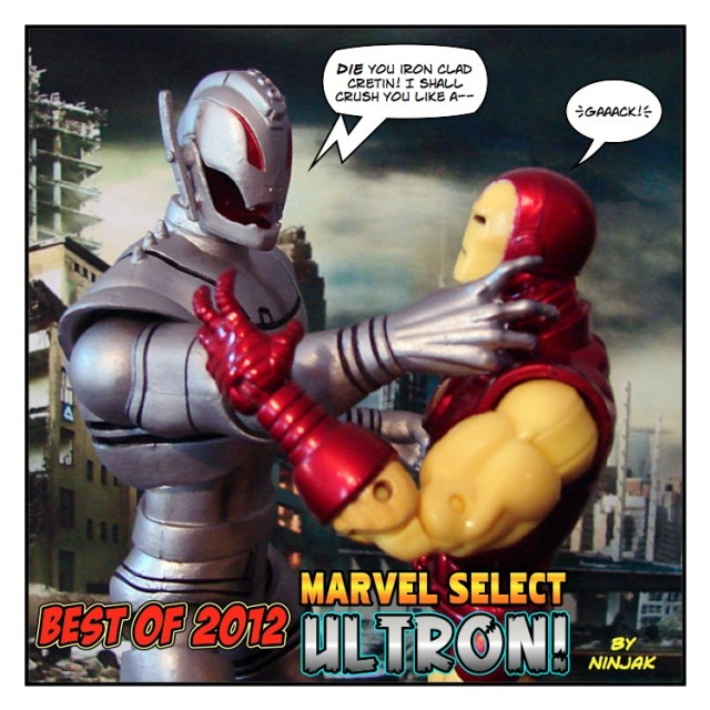 Best of 2012 - Marvel Select Ultron
