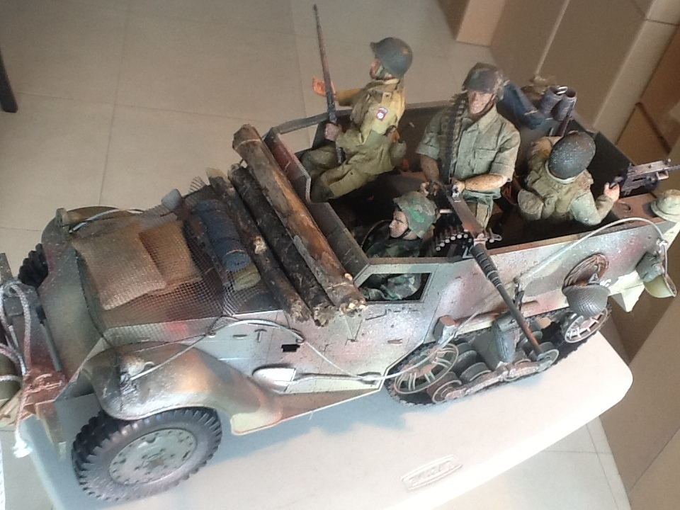 Border Patrol: 1/6 Scale Military Vehicles and Figures - Huge Lot ...