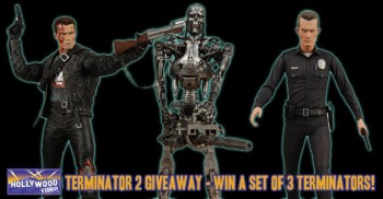 NECA Terminator 2 giveaway