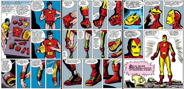 Tales of Suspense 48 new Iron Man armor