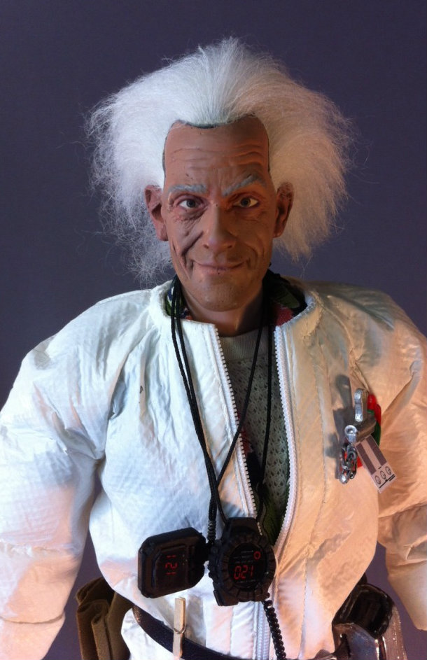 Border Patrol: $1K Customs - Back to the Future Doc Brown and DC ...