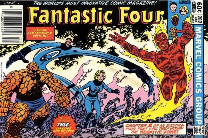 Fantastic Four 252