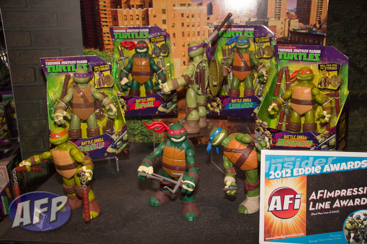 Toy Fair 2013: Playmates Nickelodeon Teenage Mutant Ninja Turtles