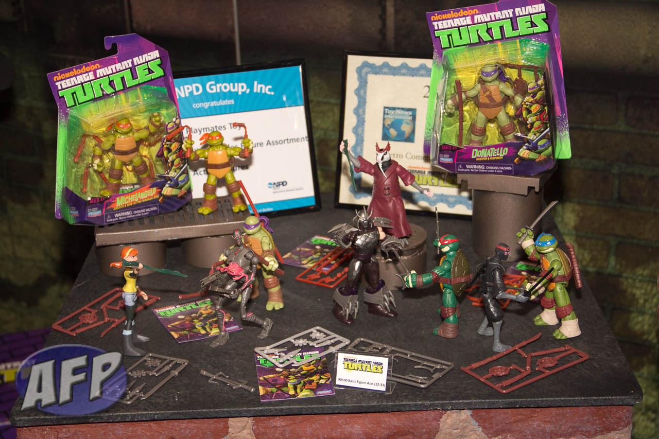 Teenage Mutant Ninja Turtles Toys 2013 : Toy fair playmates nickelodeon teenage mutant ninja