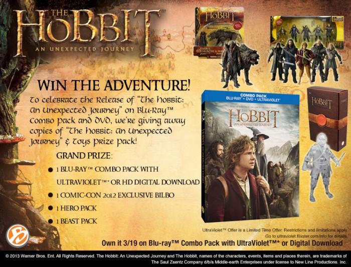Hobbit DVD Giveaway from The Bridge Direct