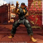Super Street Fighter IV Play Arts Kai Figure - Evil Ryu (Black Variant)
