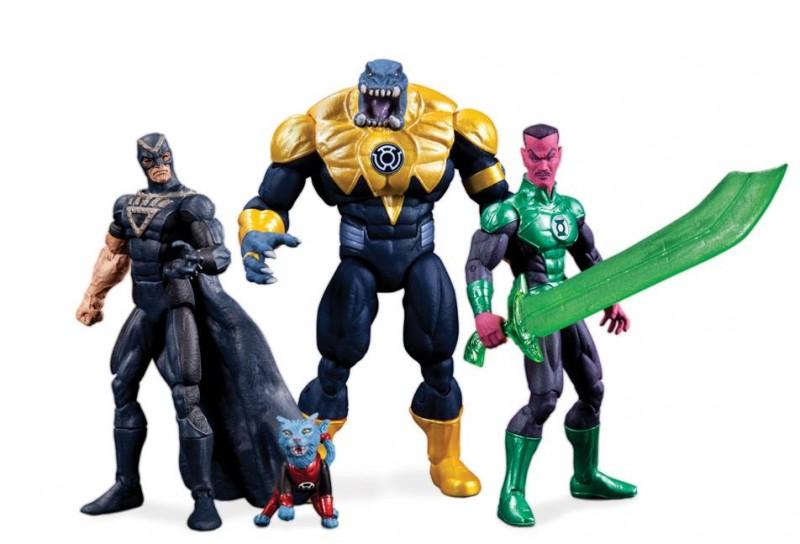 Black Hand, Dex-Starr, Arkillo and Sinestro - Green Lantern 4-pack