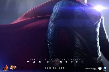 Hot Toys Man of Steel Superman Teaser