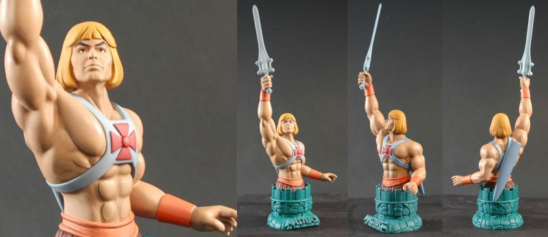 Icon Heroes He-Man Mini-Bust