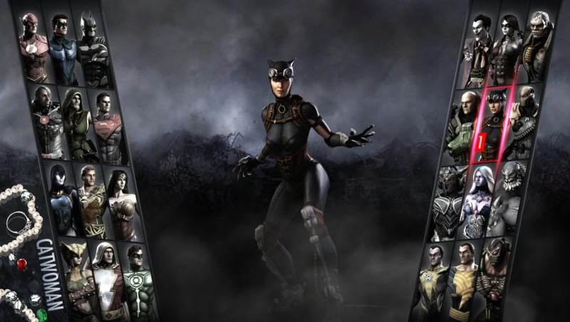 Injustice Gods Among Us Catwoman