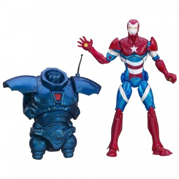 Marvel Iron Man Legends Heroic Age Iron Patriot Figure
