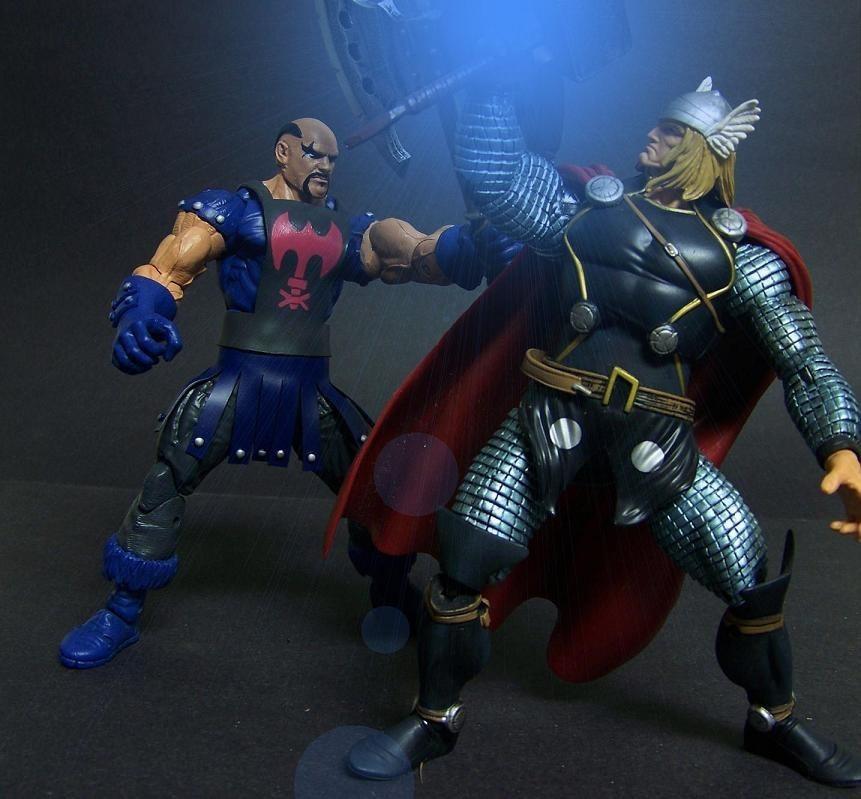 Border Patrol: Marvel Legends Executioner, Masters of the ...