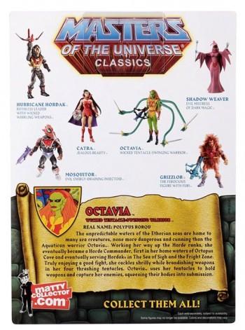 Masters of the Universe Classics Octavia pkg 2