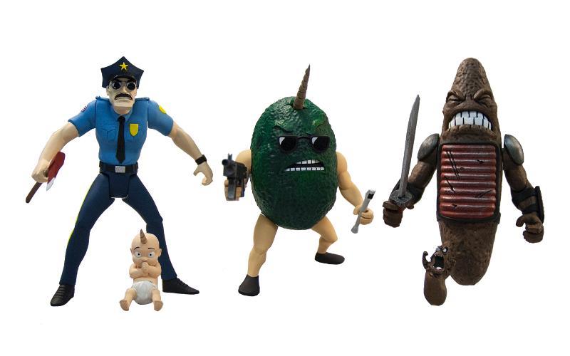 Mezco Axe Cop Series 1
