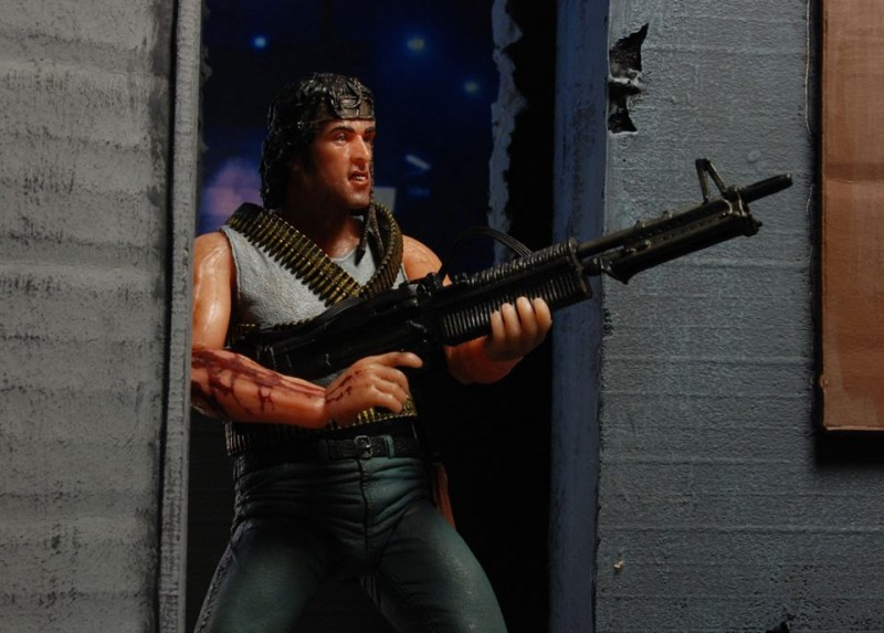 NECA Rambo First Blood Action Figure 1