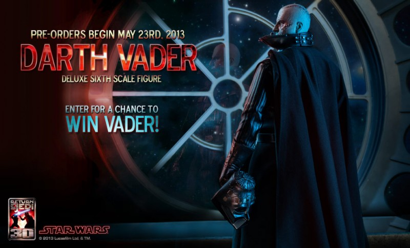 Sideshow Preview Darth Vader Premium One Sixth Scale Figure