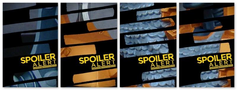 DC Super-Villains Deathstroke Action Figure teaser