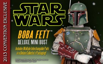 Gentle Giant Boba Fett Deluxe Mini-Bust 1