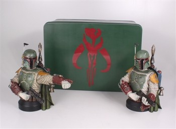Gentle Giant Boba Fett Deluxe Mini-Bust 2