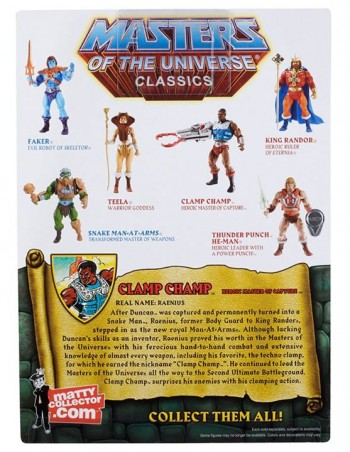 Masters of the Universe Classics Clamp Champ 2