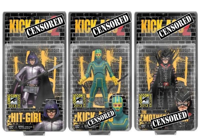 NECA Kick-Ass 2 SDCC Exclusives