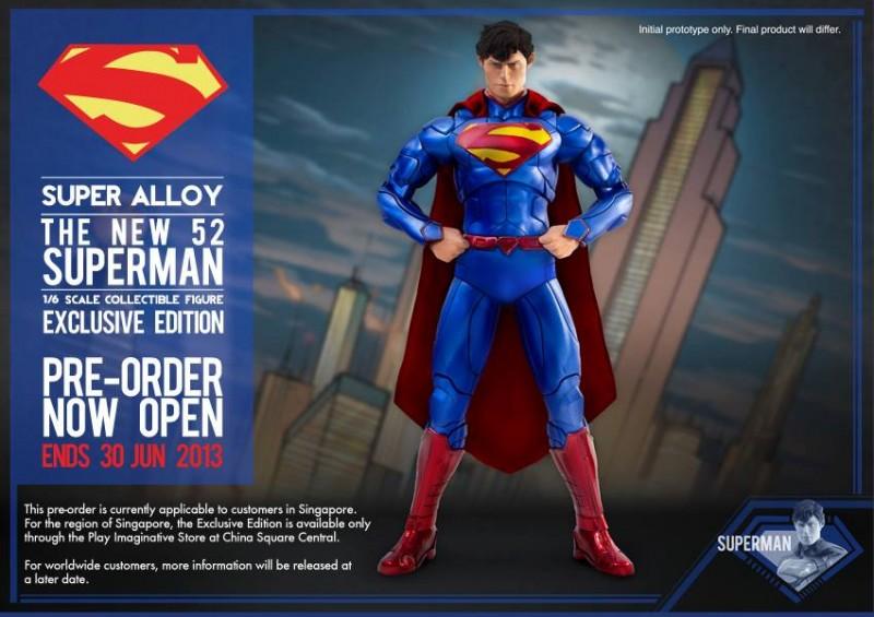 Play Imaginative New 52 Superman Exclusive Edition