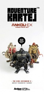THE CIVIL OFFENSIVE Ankou EX 3pack